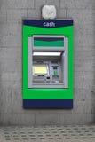 Máquina de dinheiro do Atm Foto de Stock