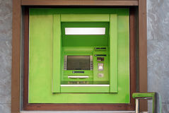 Máquina de dinheiro exterior do ATM Imagem de Stock