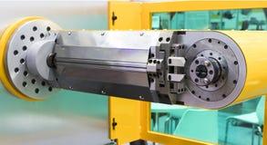 Máquina de dobra do fio do CNC; Fotos de Stock Royalty Free
