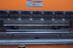 Máquina de dobra para o metal de dobra de alguma espessura Imagens de Stock Royalty Free