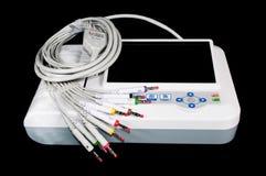 Máquina de ECG Imagens de Stock