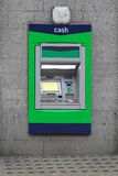 Máquina de efectivo de la atmósfera Foto de archivo