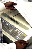 Máquina de EKG imagen de archivo libre de regalías