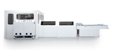 Máquina de empacotamento Imagem de Stock