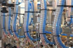 Máquina de engarrafamento da água Foto de Stock Royalty Free