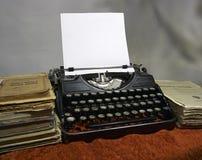 Máquina de escrever Imagens de Stock Royalty Free