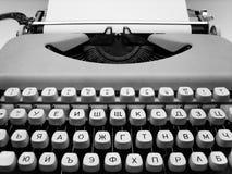Máquina de escrever Fotografia de Stock Royalty Free