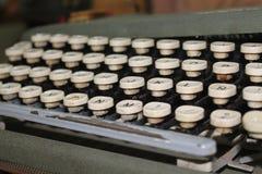 Máquina de escrever Fotos de Stock