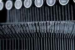 Máquina de escrever Imagens de Stock
