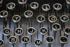 Máquina de escrever antiga Fotos de Stock