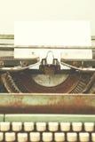 Máquina de escrever antiga Fotografia de Stock