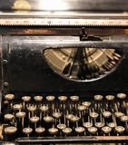 Máquina de escrever antiga foto de stock royalty free