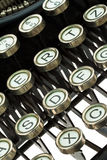 Máquina de escrever antiga, velha Fotos de Stock Royalty Free