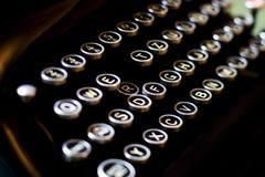 Máquina de escrever clássica Fotos de Stock Royalty Free