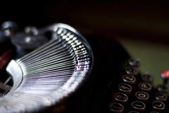 Máquina de escrever clássica Imagens de Stock