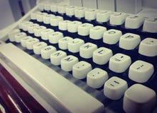 Máquina de escrever da velha escola Fotos de Stock Royalty Free