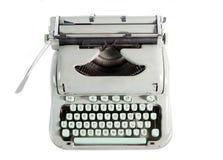 Máquina de escrever de acima Imagens de Stock