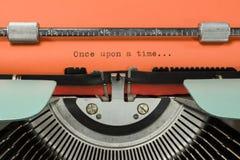 Máquina de escrever do vintage Fotos de Stock