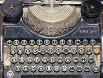 Máquina de escrever histórica Fotos de Stock Royalty Free