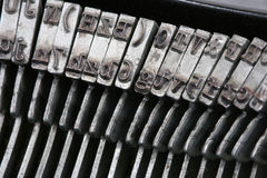 Máquina de escrever mim Fotografia de Stock