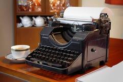 Máquina de escrever retro Fotografia de Stock