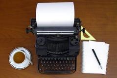 Máquina de escrever retro Imagens de Stock