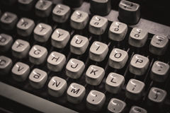 Máquina de escrever velha Foto de Stock Royalty Free