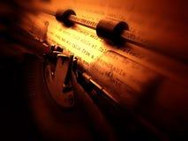 Máquina de escrever velha Imagem de Stock