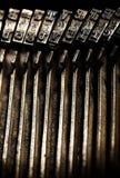 Máquina de escrever velha Fotos de Stock Royalty Free