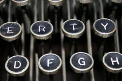 Máquina de escrever velha Fotografia de Stock