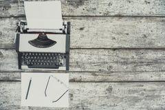 Máquina de escrever velha Imagem de Stock Royalty Free