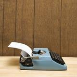 Máquina de escribir. fotografía de archivo libre de regalías