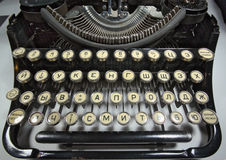 Máquina de escribir Fotografía de archivo libre de regalías