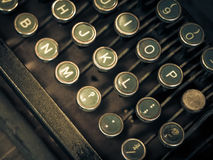 Máquina de escribir antigua Imagenes de archivo
