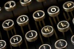 Máquina de escribir antigua Remington imagenes de archivo