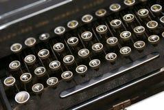Máquina de escribir de la vendimia Fotos de archivo libres de regalías