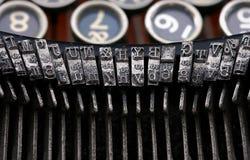 Máquina de escribir de la vendimia fotografía de archivo libre de regalías