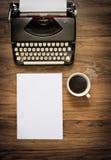 Máquina de escribir del vintage Fotografía de archivo libre de regalías