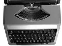 Máquina de escribir del vintage fotografía de archivo