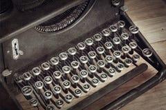 Máquina de escribir del vintage Imagen de archivo libre de regalías