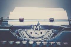 Máquina de escribir del vintage foto de archivo libre de regalías
