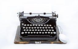 Máquina de escribir del vintage imagenes de archivo