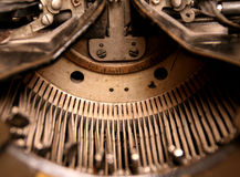 Máquina de escribir histórica Imagen de archivo libre de regalías