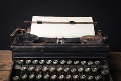 Máquina de escribir mecánica del vintage Fotografía de archivo