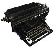 Máquina de escribir oxidada vieja imagen de archivo
