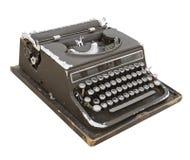 Máquina de escribir retra imagen de archivo