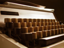Máquina de escribir retra Fotos de archivo
