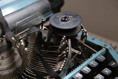 Máquina de escribir retra vieja Imagen de archivo libre de regalías