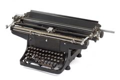 Máquina de escribir vieja 1 Foto de archivo