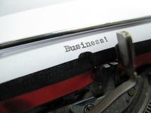 Máquina de escribir vieja imagen de archivo libre de regalías
